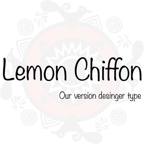 Lemon Chiffon Type Fragrance