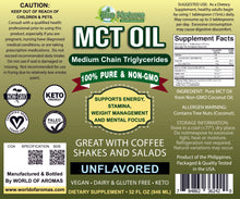 Load image into Gallery viewer, MCT Oil Coconut Oil
