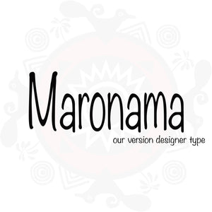 Maronama Type  Pure Fragrance