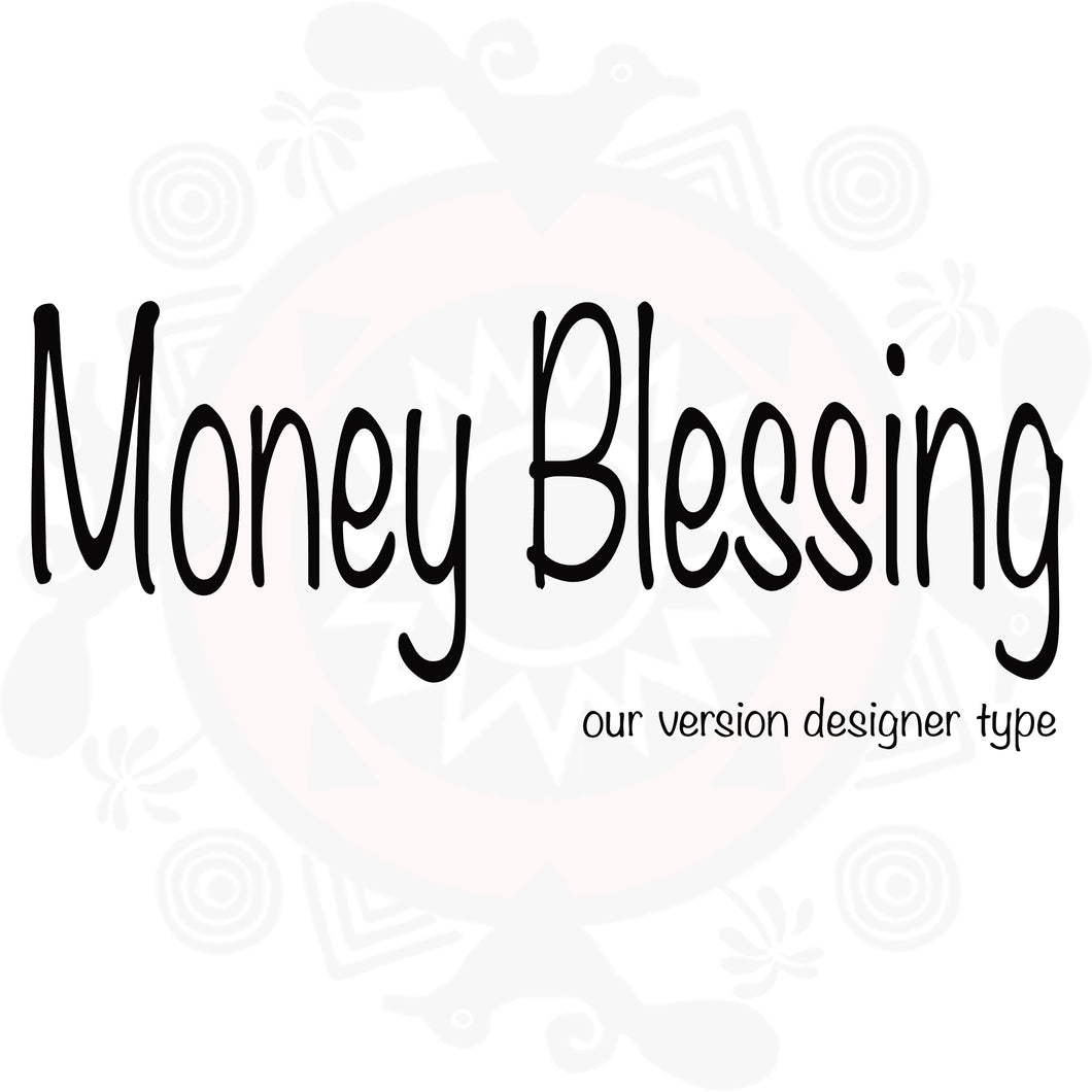 Money Blessing Type Fragrance