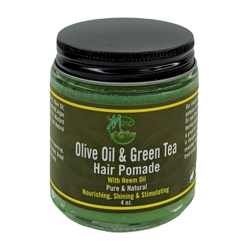 Olive Oil & Green Tea Hair Pomade