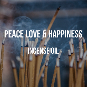 Peace Love & Happiness Incense Oil
