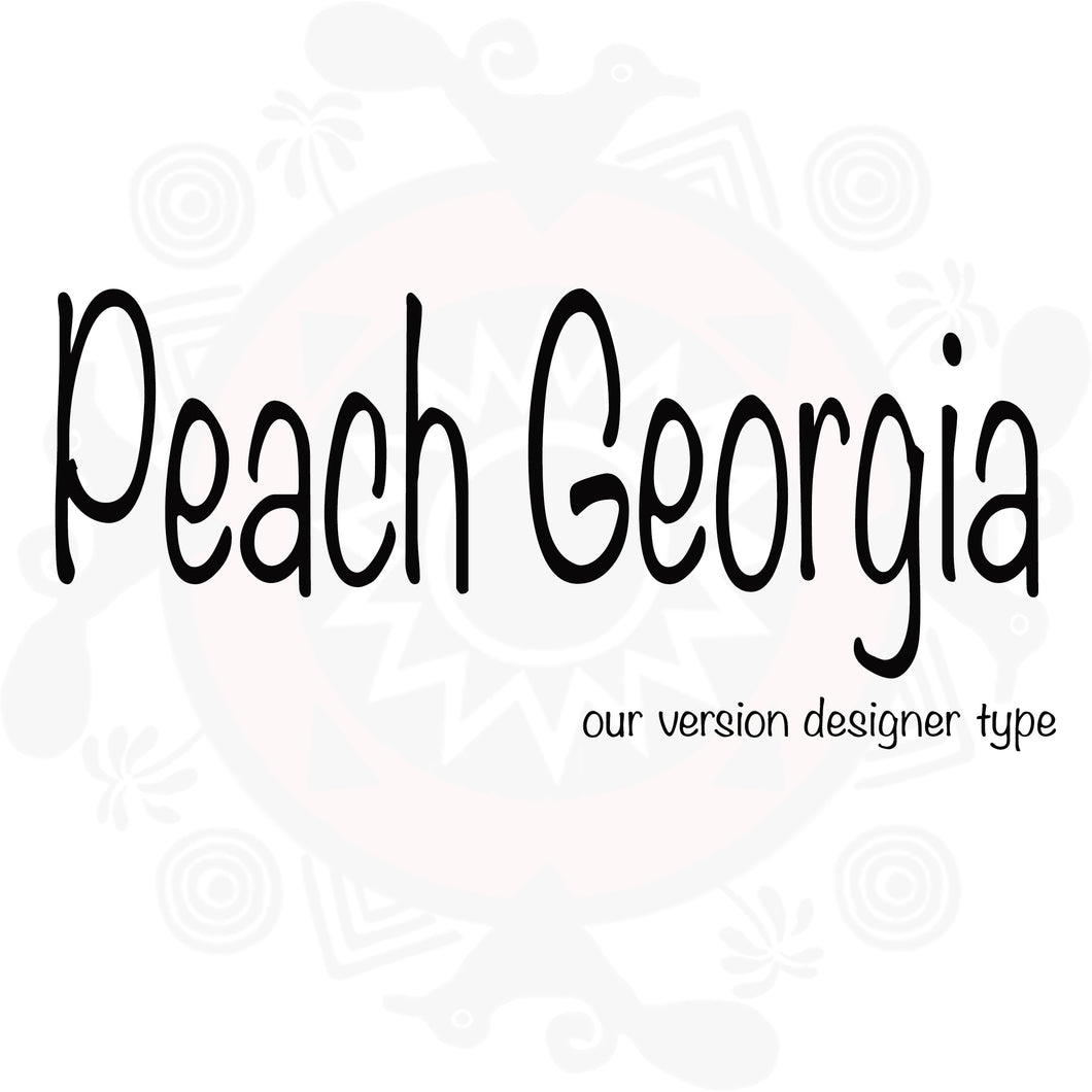 Georgia Peach Type Fragrance