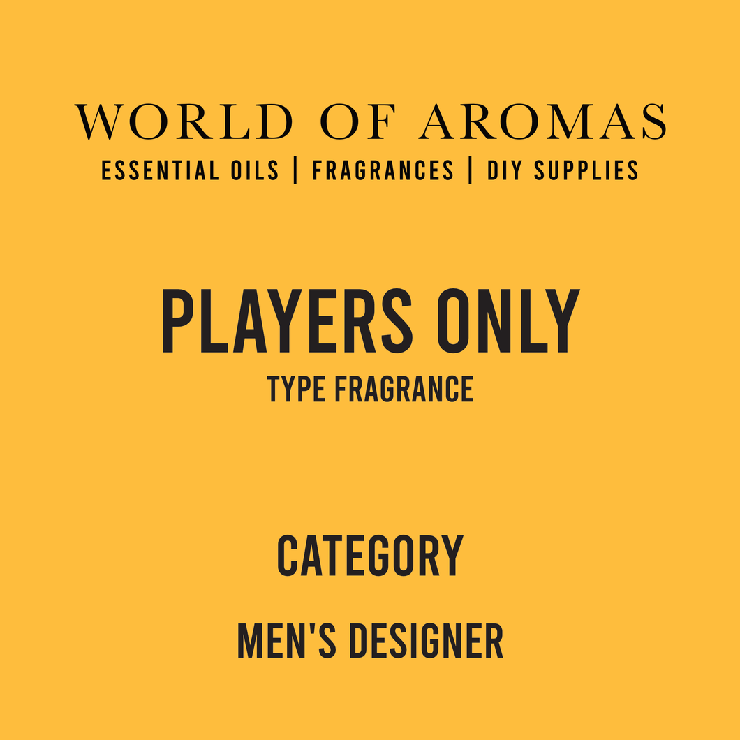 Players Only Type Fragrance