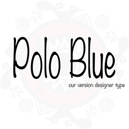 Polo Blue (M) type compared to Polo Blue (M) type