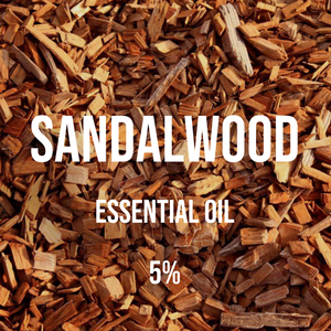 Sandalwood Essential Oil 5% Dilution (Santalum Album)
