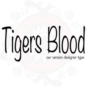 Tigers Blood  Pure Fragrance