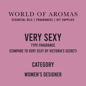 Very Sexy Type Fragrance - Women's (Compare to Very Sexy by Victoria's Secret)
