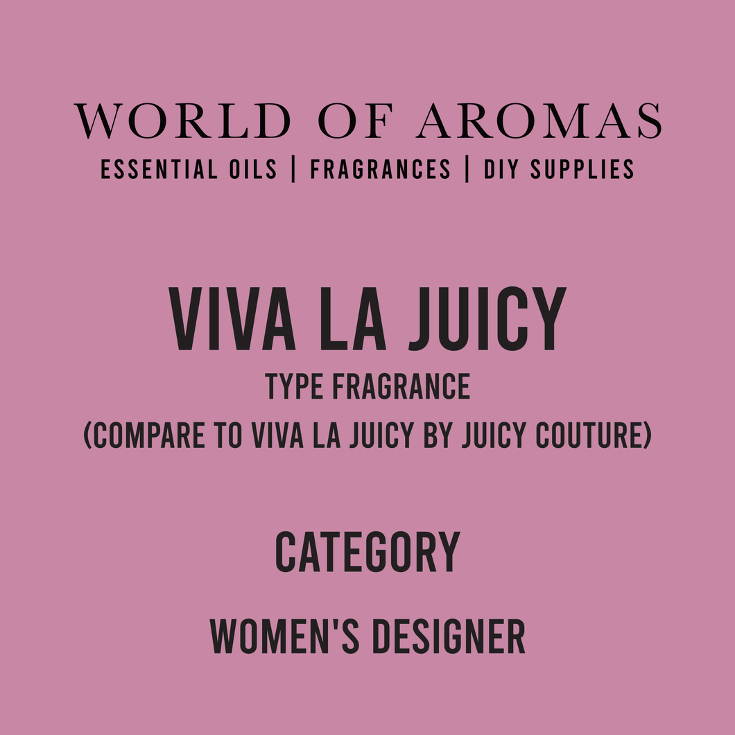 Viva La Juicy Type Fragrance - Women's (Compare to Viva La Juicy by Juicy Couture)