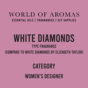 White Diamonds Type Fragrance - Women's (Compare to White Diamonds by Elizabeth Taylor)
