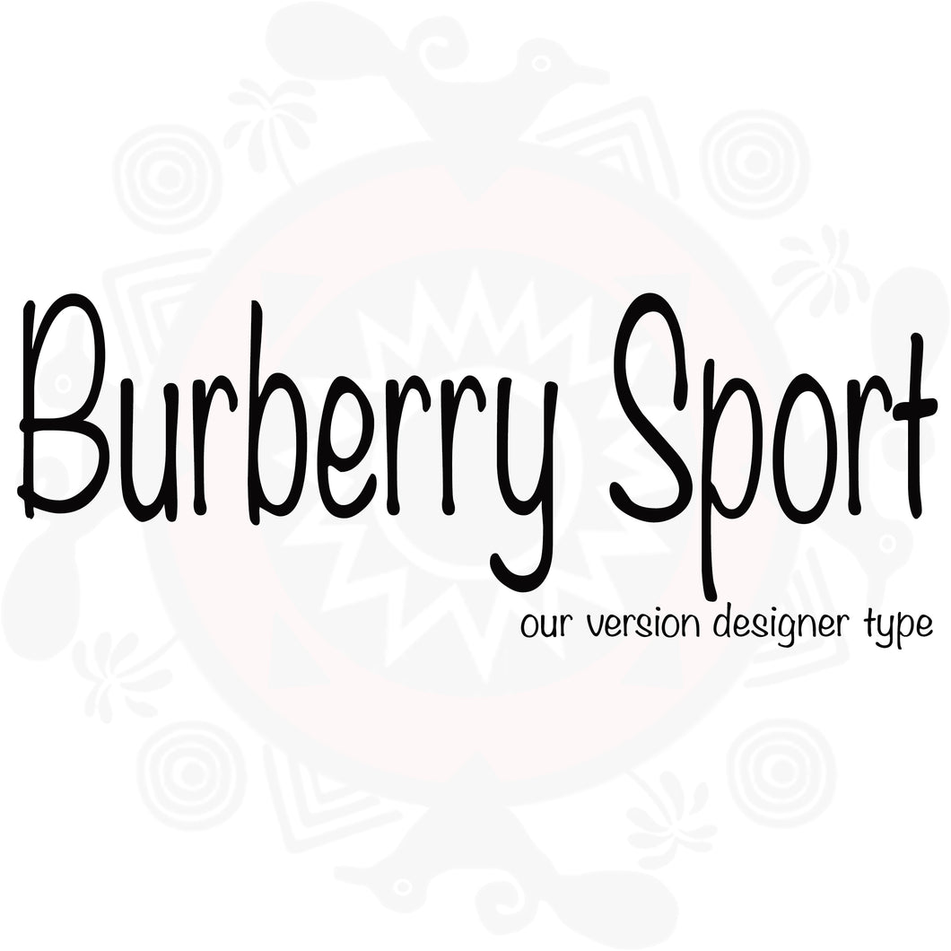 Burberry Sport Type Fragrance