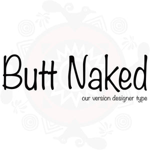 Butt Naked Type Fragrance