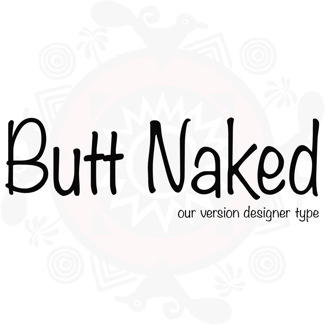 Butt Naked Pure Fragrance