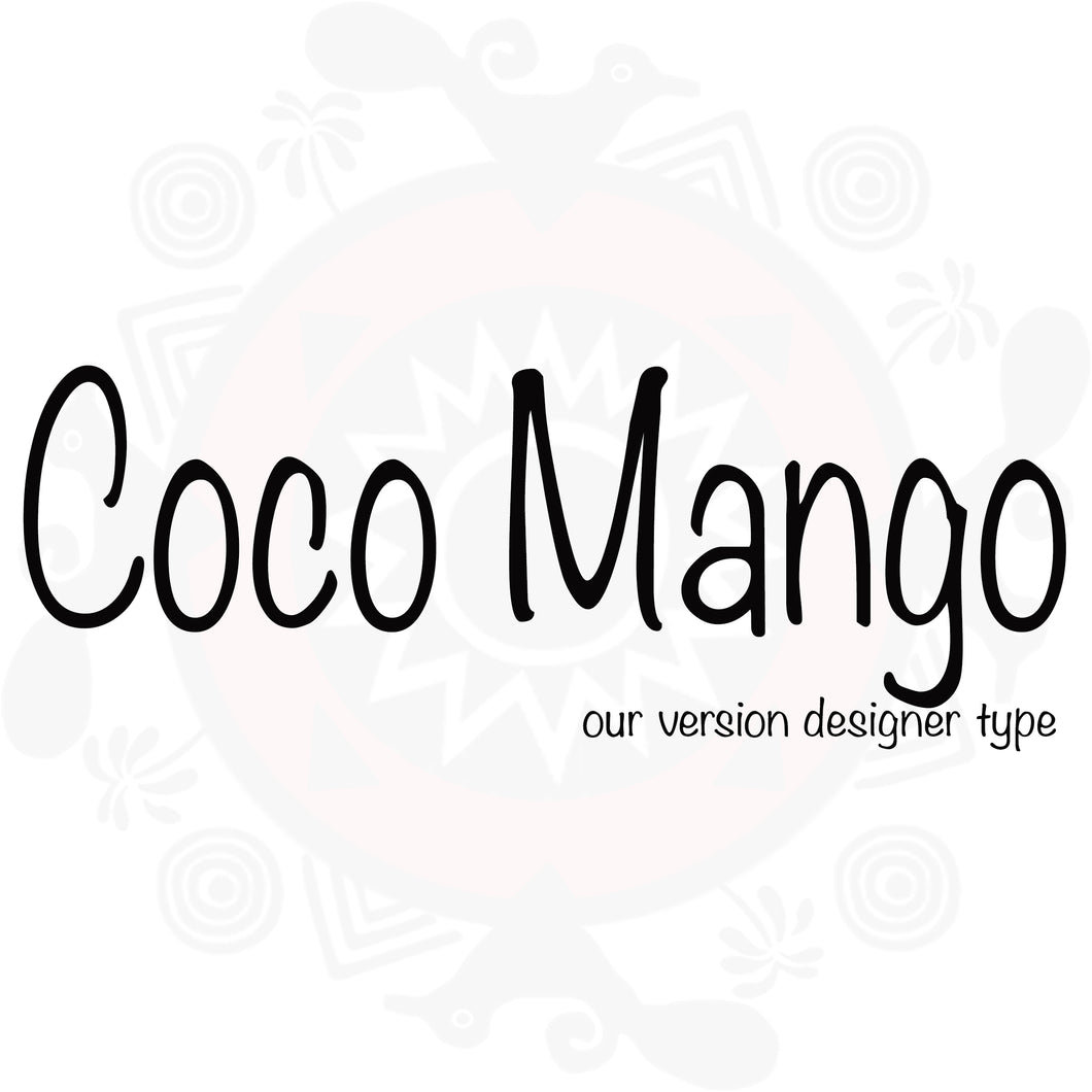 Coco Mango Type Fragrance