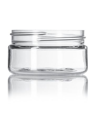 2oz Clear PET Jar with 58-400 Neck Finish
