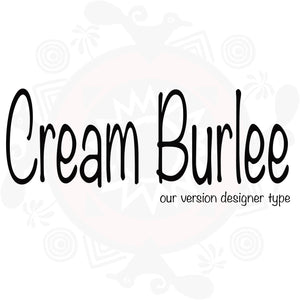 Cream Burlee Pure Fragrance