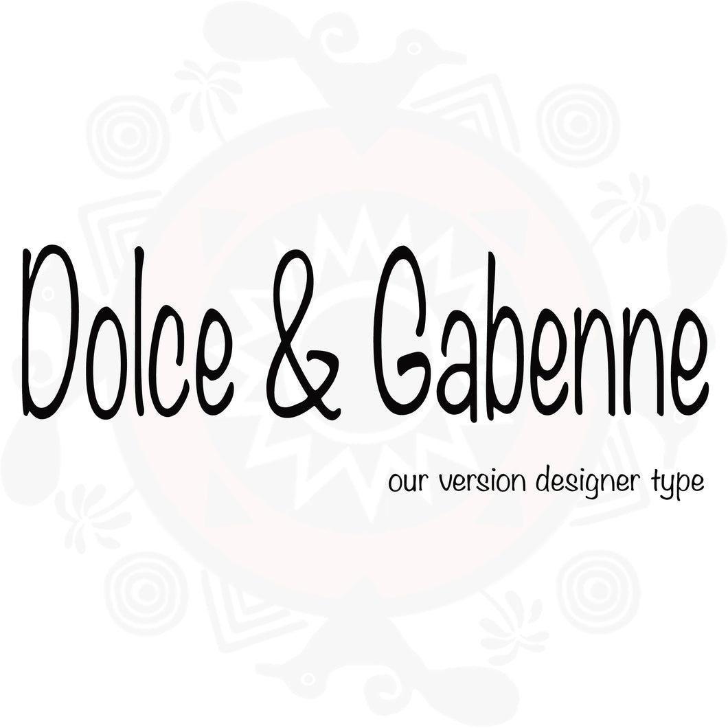 Dolce & Gabenne Type Fragrance