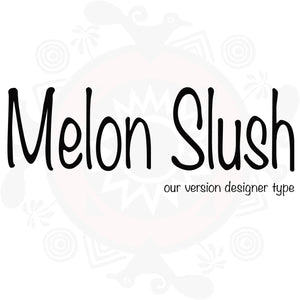 Melon Slush Type Fragrance