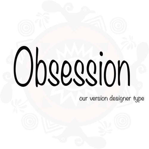 Obsession Type Fragrance - Women's (Compare to Obsession by Calvin Klein)