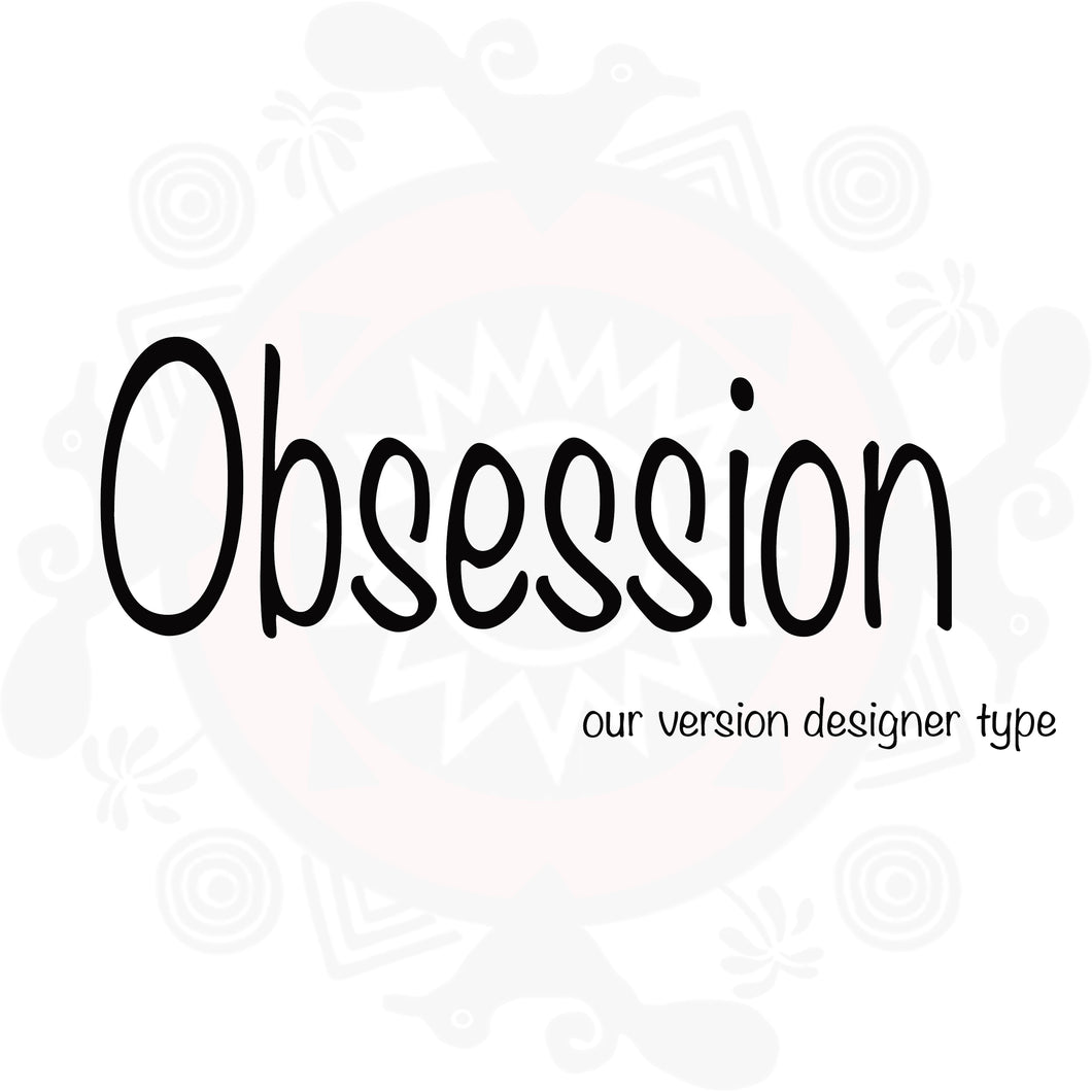 Obsession (W) Type Fragrance