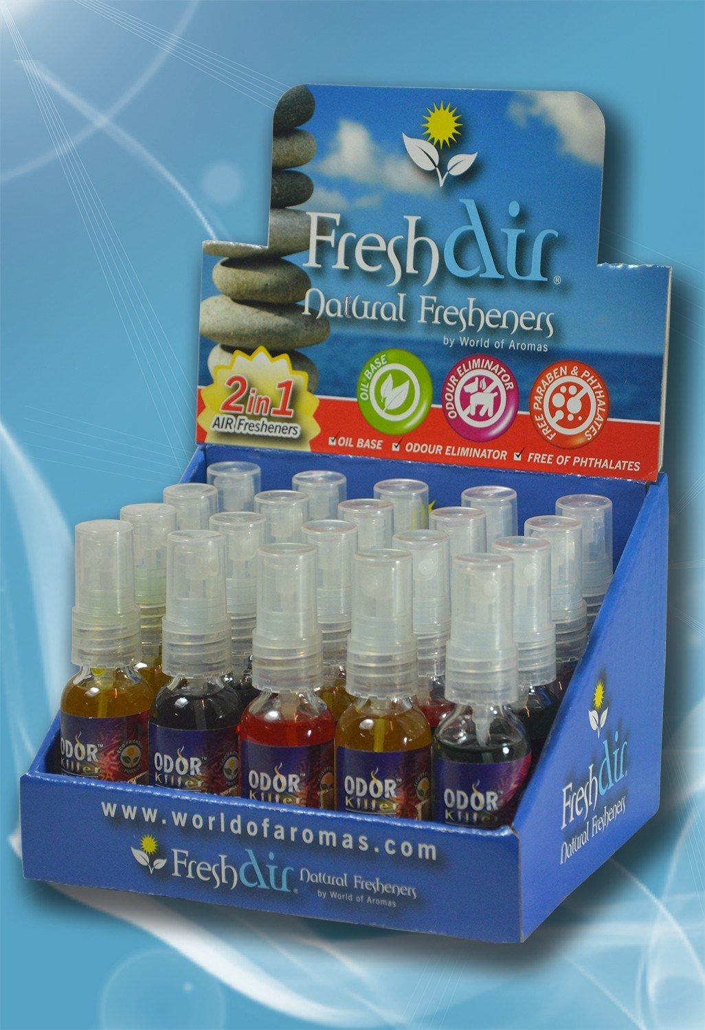 Odor Killer with Air Freshener