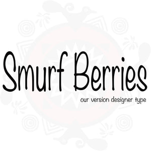 Smurf Berries Type Pure Fragrance