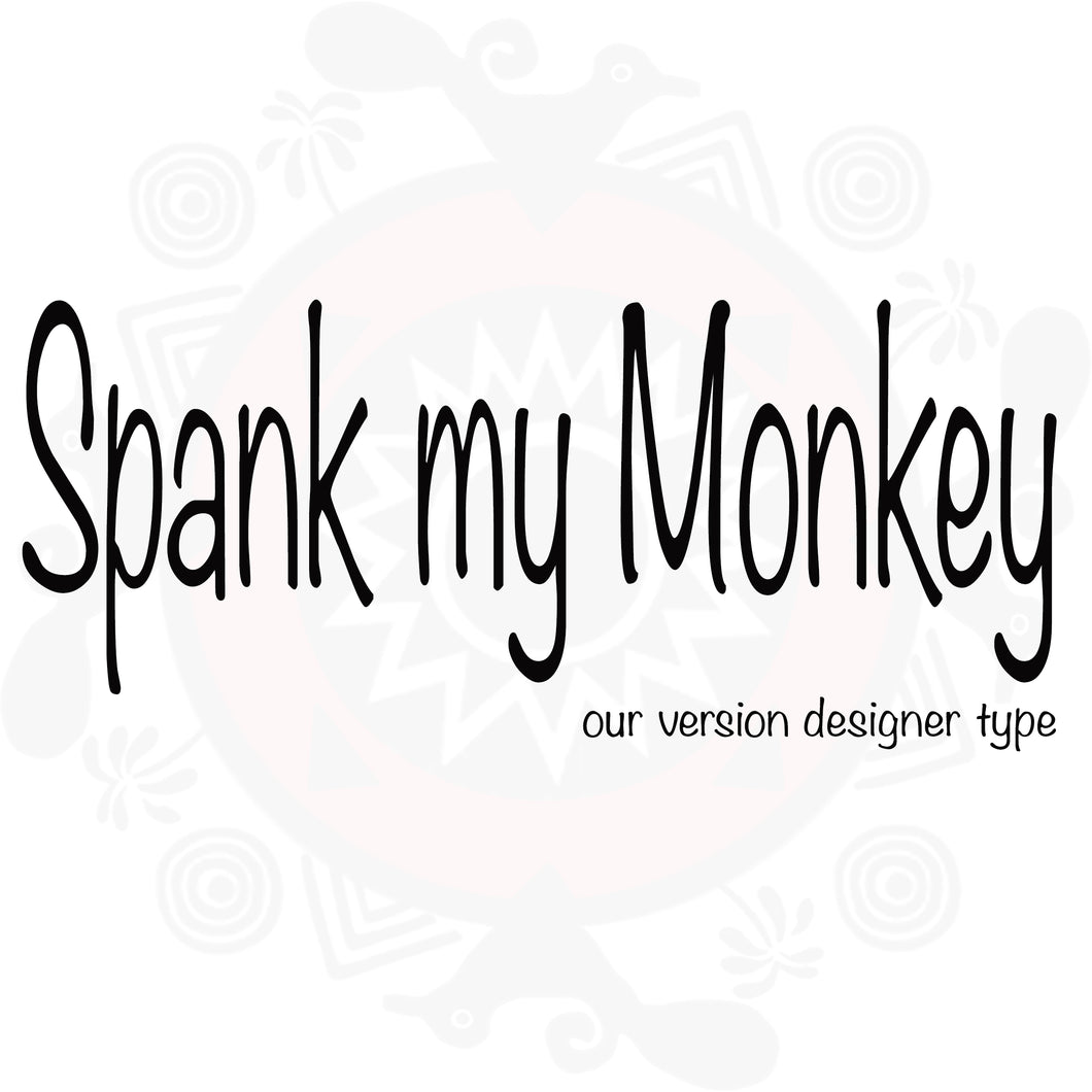 Spank My Monkey Type Fragrance