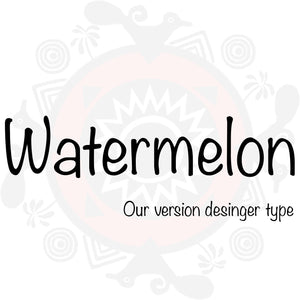 Watermelon Type Fragrance
