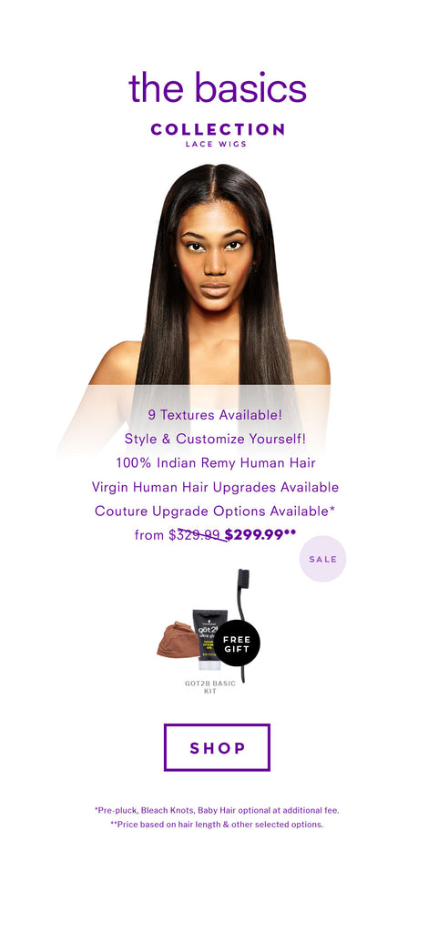 Basics Lace Wigs Collection