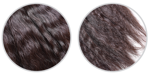About Our Kinky Straight Human Hair