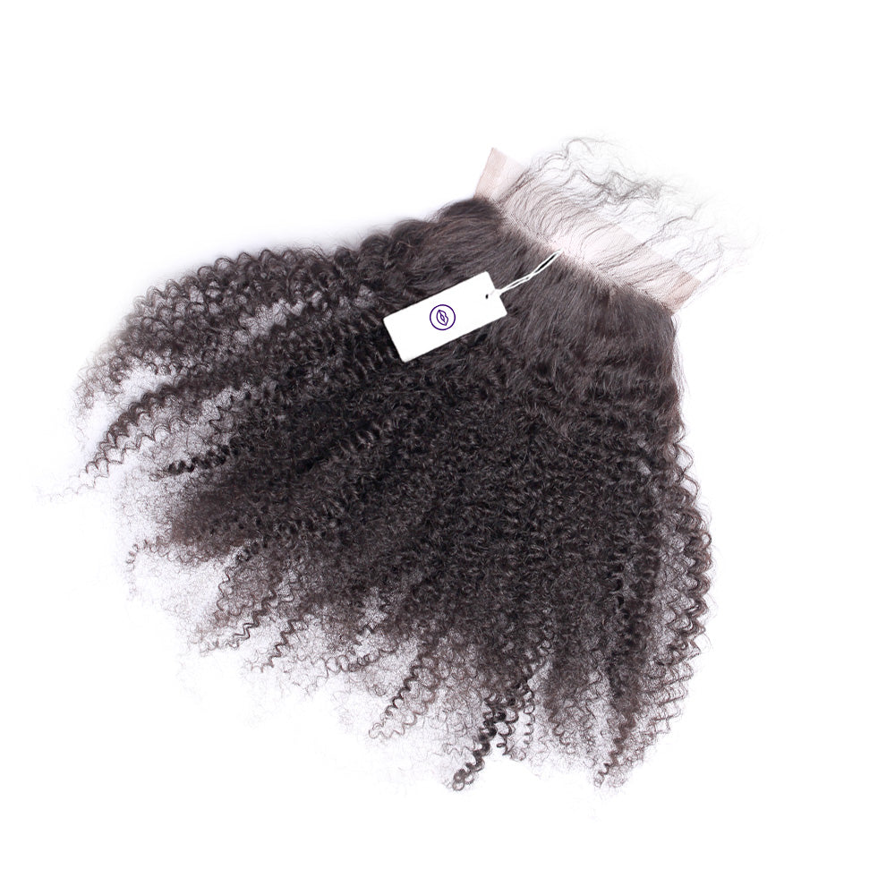 Afro Coily - Lace Closure Piece
