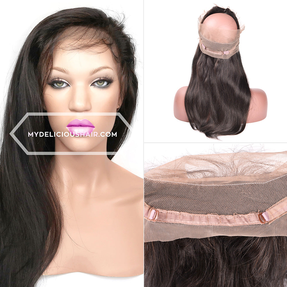 Silky Straight - 360 Lace Frontal Band