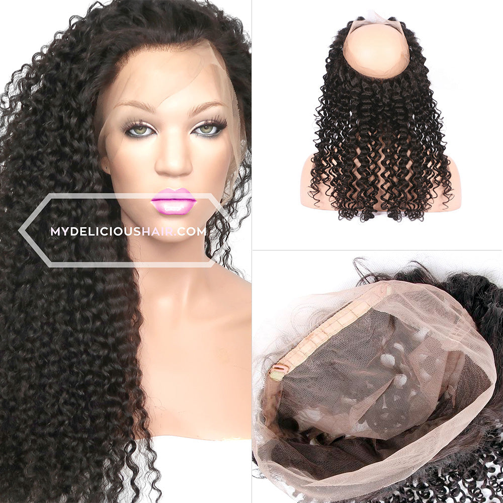 Kinky Curly - 360 Lace Frontal Band