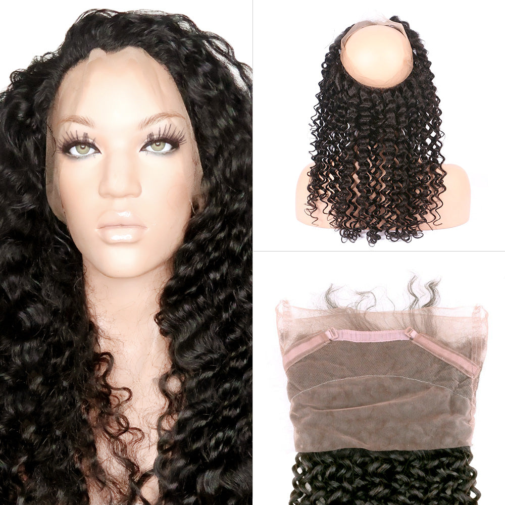 Deep Wave - 360 Lace Frontal Band