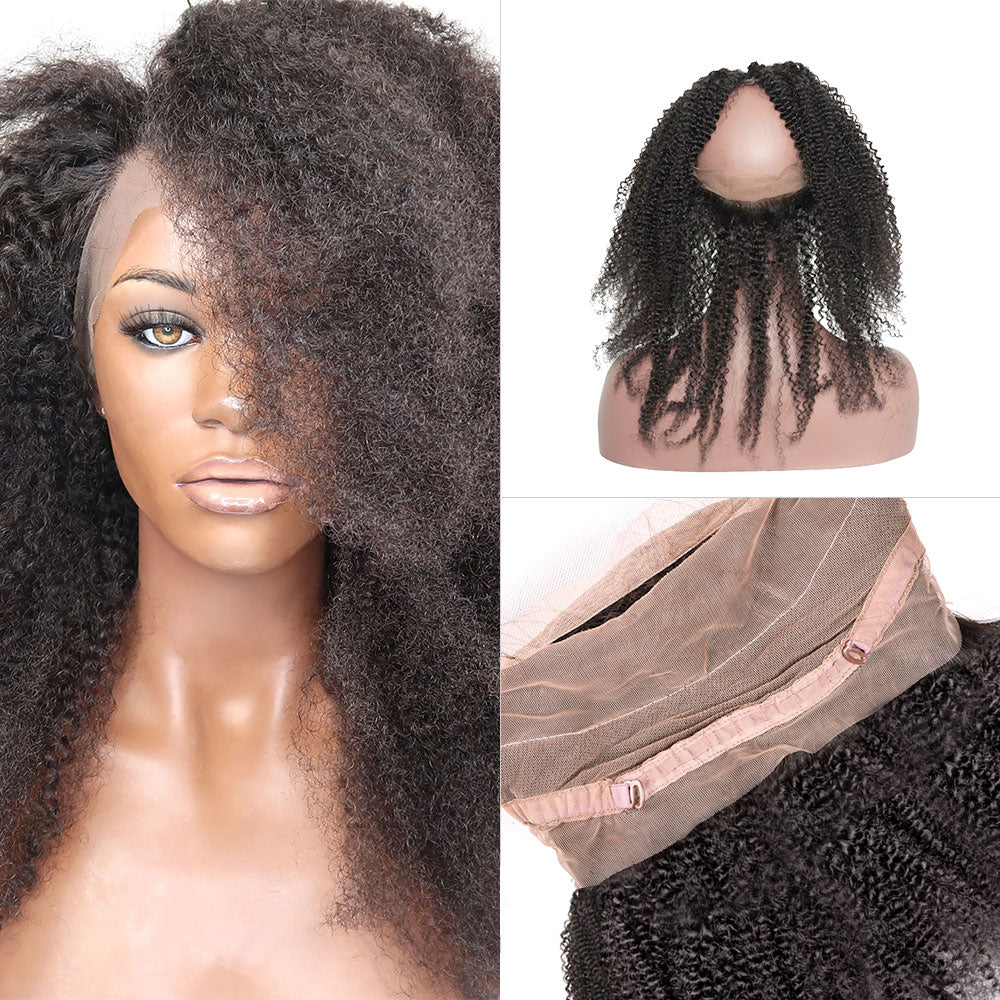Afro Coily - 360 Lace Frontal Band