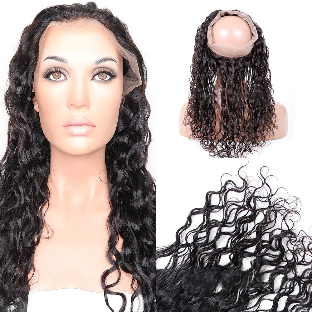 Water Wave - 360 Lace Frontal Band