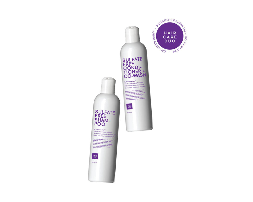 Sulfate-Free Shampoo & Conditioner Duo - Safe for Hair!