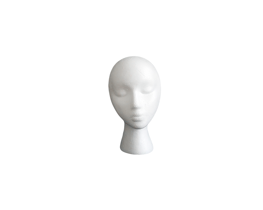"Foam Wig Head - 7.5"" Long"