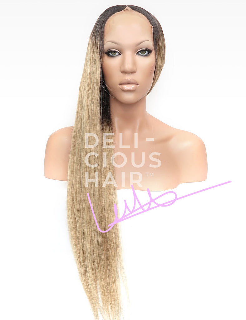 "Banana - 24"" Lace Wig - 100% Virgin Brazilian Human Hair - Candy-Melt Wig Collection"