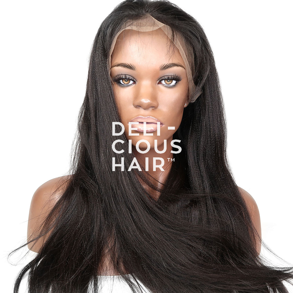 Yaki Straight Lace Wig