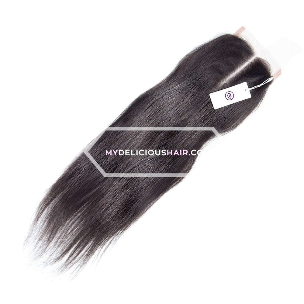 Yaki Straight - Lace Closure Piece