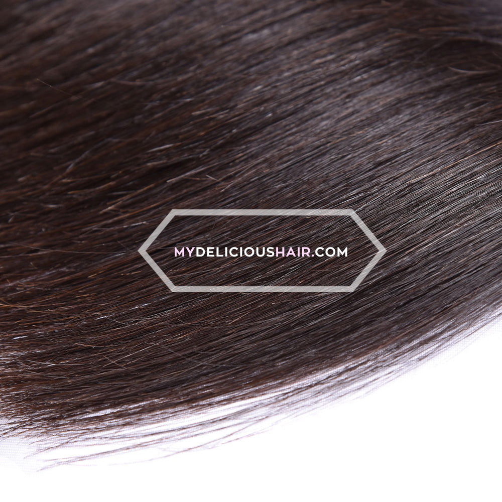 Silky Straight - Lace Closure Piece