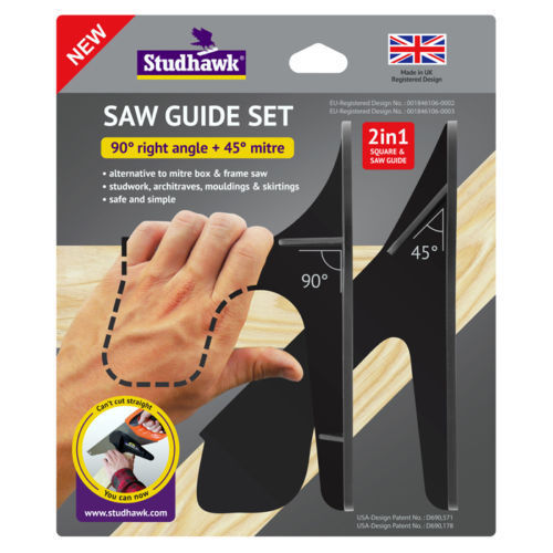 Studhawk Saw Guide Set (Twin Pack)