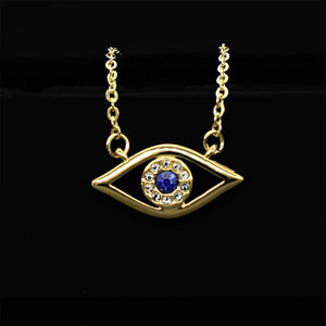 Golden sapphire Ajna eye of protection 2cm
