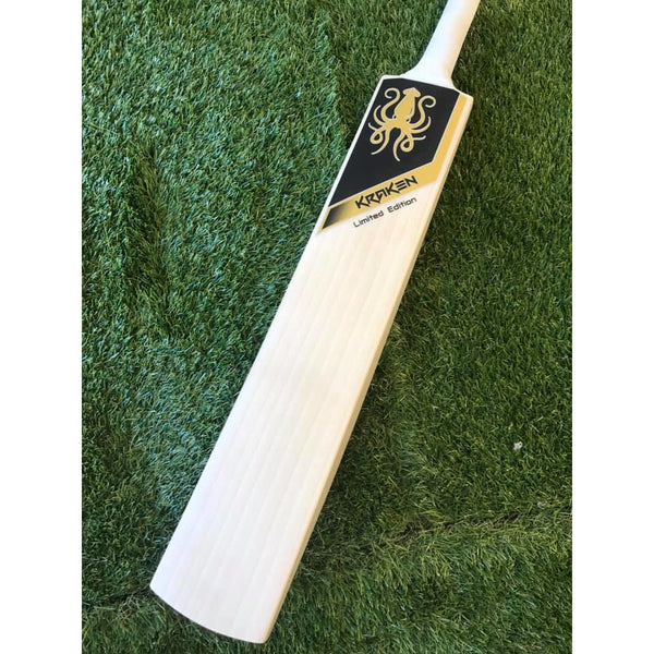 Kraken Limited Edition Gold Cricket Bat