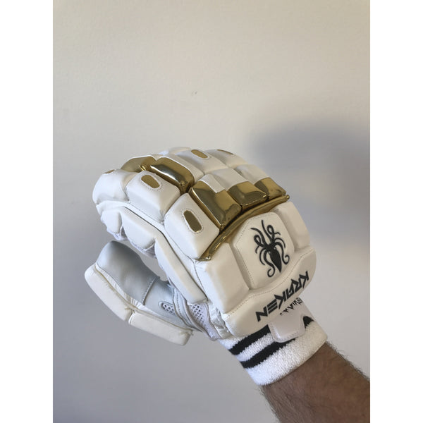 Kraken Classic Gold Edition Batting Gloves