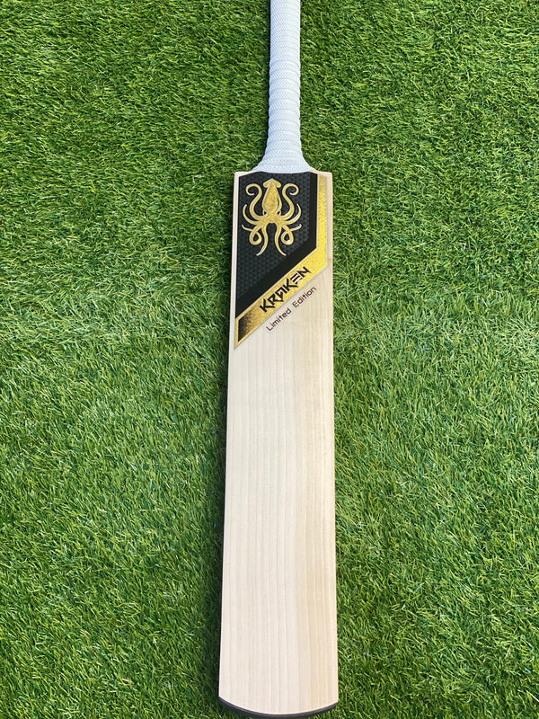 Kraken Cricket Bat Limited edition Grade 1 Willow