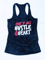 She's All Hustle & Heart