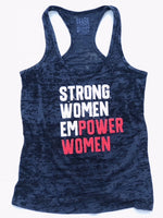 Strong Women Empower Women (Black, White, Red)