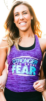 Stronger Than Every Fear (Purple)